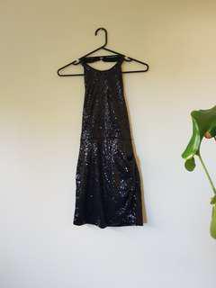 Loving Things Sequined Halterneck Dress