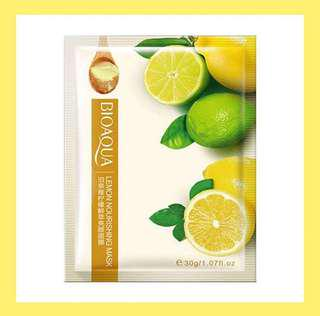 Sheet mask Bioaqua Lemon