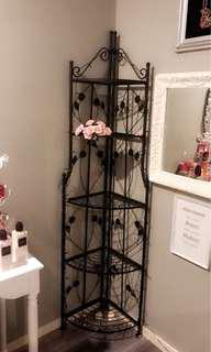 Cast iron shelf