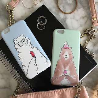 🚚 Polar Bear / Brown Bear Phone Case