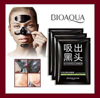 Bioaqua black mask sachet (peel off mask)