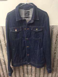 Jaket Jeans Bershka Original