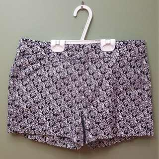 Banana Republic Shorts Cute Bike Pattern