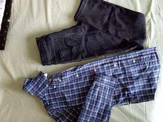 Kemeja&jeans