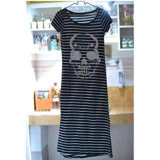Skull Maxi Dress