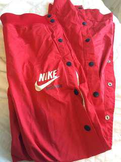 Nike red tearaways
