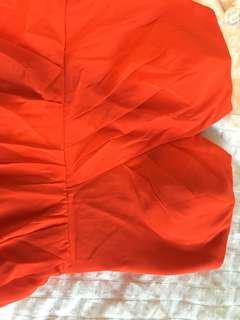 Shop Bop Orange Dress
