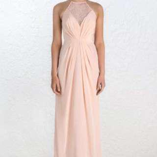 NEW Zimmermann Silk Web Long Dress Shell 0 Bridesmaid/Formal BNWT Brand New With Tags AU 6/ 8