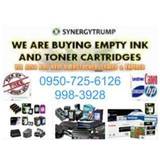 Legit Buyer of Empty Ink Cartridges and Toners