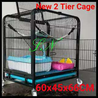 Cat Cage pet cage rabbit cage birds cage dog cage 2 Tier Pet Cage, not hammock cat condo tree pet carrier Haversack kitten carrier food bowl Scracth