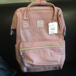 Anello leather backpack (LILAC)