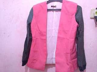 Blazer jaket 2 warna