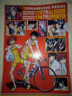 Yowamushi pedal file folder
