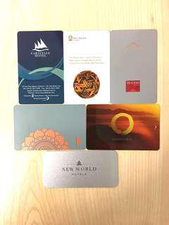 Collectible Souvenir Hotel Key Cards