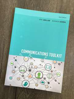 Communications Toolkit Book by Jane Grellier and Veronica Goerke