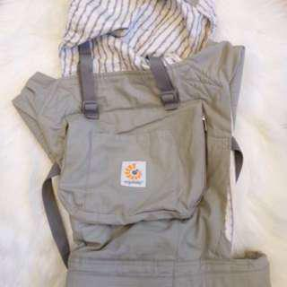 Authentic Ergobaby Courier w/Infant Insert