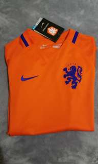 BNWT Nike The Netherlands Home Soccer Jersey