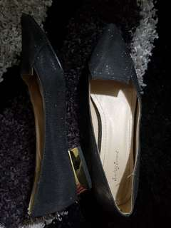 Something Borrowed Black Flats