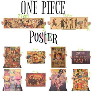 ONE PIECE anime poster