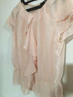 Chiffon blouse size M (no inner)