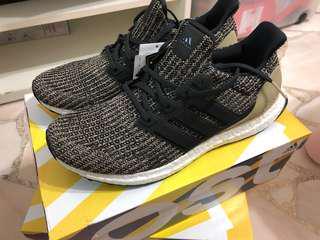 Adidas Ultra Boost 4.0 Core Black/Raw Gold