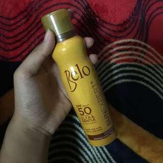 Belo sunscreen spray