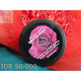 The Body Shop British Rose Instant Glow Body Butter 50ml