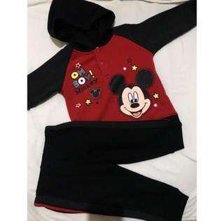 Mickey Mouse Hoodie & Pants