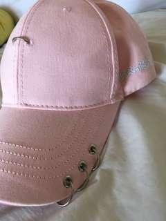Japanese loops cap pink