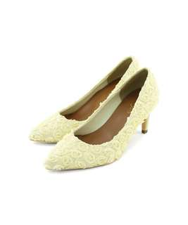 wedding shoes 白色婚鞋