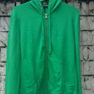 MANGO Green Jacket/Hoodie (REPRICED)