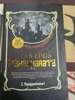 novel hard cover Epos Mahabarata
