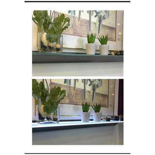 LAST OFFER!!! - New unit LED lighted glass shelf