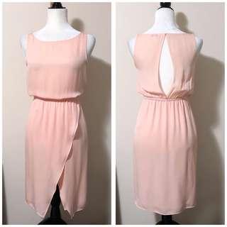 Aritzia Babaton XXS Silk Dress with Back Opening