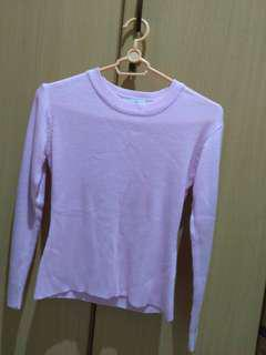Long sleeve rajut