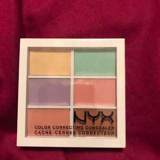 NYX colour correcting concealer
