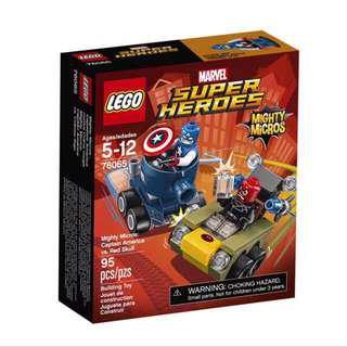 Lego 76065 Mighty Micros: Captain America vs Red Skull