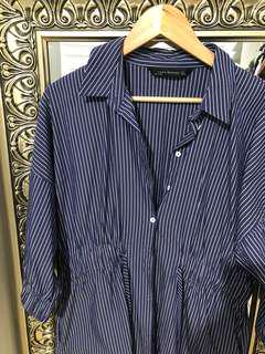 Zara pin stripe dress
