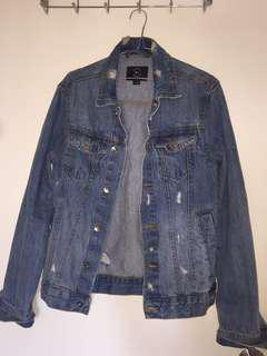 Cotton On Ripped Denim Jacket
