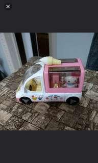 Hello Kitty回力車