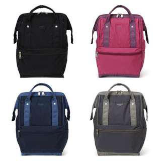 [Re-Stock] Japan Anello Nylon Backpack~ Original 100% Authentic ☆AP-H1452