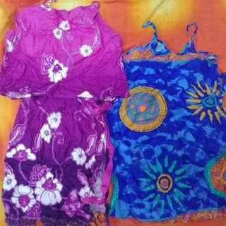泰國馬來西亞連衣裙和套裝沙灘服