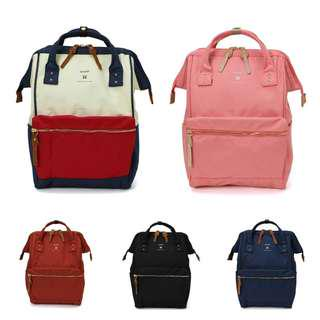 [Re-Stock] Japan Anello Polyester Canvas Backpack~ Original 100% Authentic ☆AT-B2571