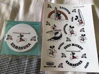 ⬇️[雜誌限定]Disney Mickey 米奇 米老鼠 貼紙 便利貼