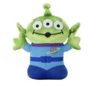 Disney Plush-Beans Toy Story Alien Happy 三眼仔毛公仔