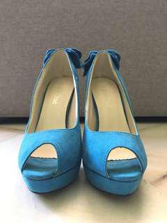 High heels (Light Blue)