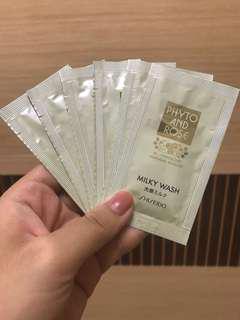 🚚 資生堂試用包洗面乳*6 #美妝88