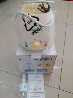 Steamer Susu Portable merk Crown