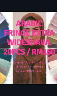 Fringe Wideshawl  20pcs