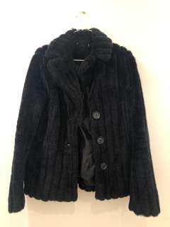 Wool jacket black